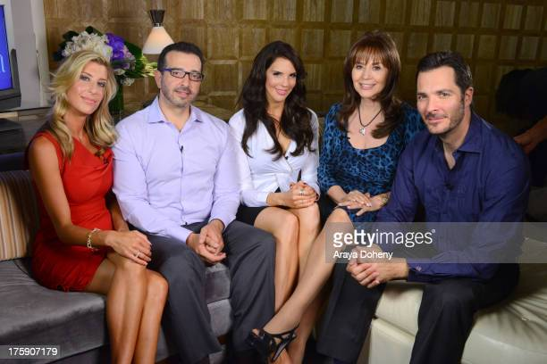 Dr Ann Ridley Dr Hernando Chaves Tracey Jewel Dr Ava Cadell and Dr Tim Neavin attend Passion And Pleasure series taping starring Tracey Jewel and...
