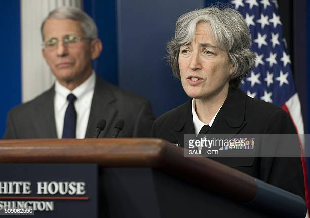 Dr Anne Schuchat Principal Deputy Director of the Centers for Disease Control and Prevention and Dr Anthony Fauci Director of NIH/NIAID speak about...