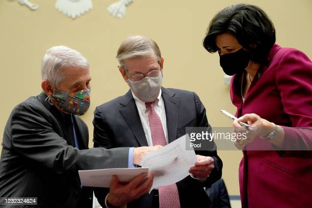 Dr. Anthony Fauci, Director of NIAID and Chief Medical Advisor to the President, Dr. David Kessler, Chief Science Officer of the White House COVID...