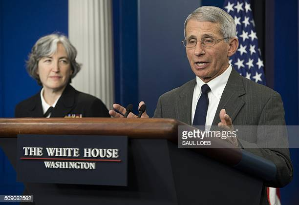 Dr. Anthony Fauci, Director of NIH/NIAID, and Dr. Anne Schuchat , Principal Deputy Director of the Centers for Disease Control and Prevention , speak...