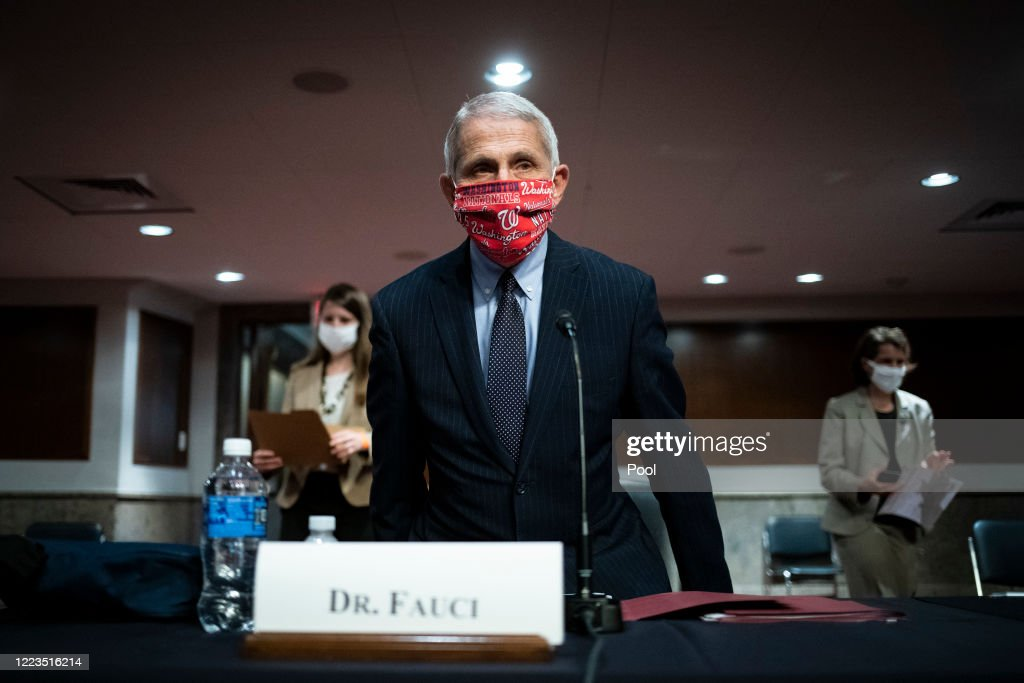Senate Help Committee Holds Hearing On Safely Going Back To Work And School During Pandemic : News Photo