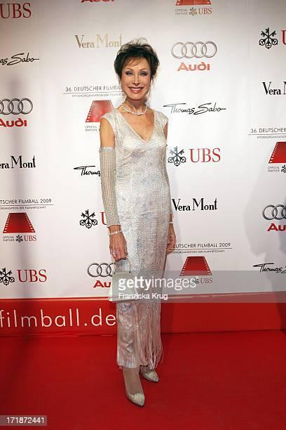 Dr Antje Katrin Kühnemann On Arrival to '36th German Film Ball' At Hotel Bayerischer Hof in Munich