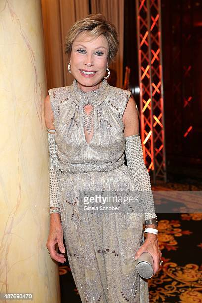 Dr Antje Katrin Kuehnemann during the 10th anniversary of 'Dreamball' at Ritz Carlton on September 10 2015 in Berlin Germany