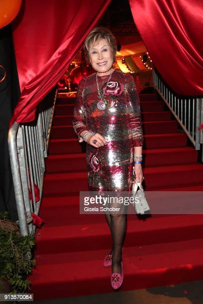 Dr Antje Katrin Kuehnemann during Michael Kaefer's 60th birthday celebration at Postpalast on February 2 2018 in Munich Germany