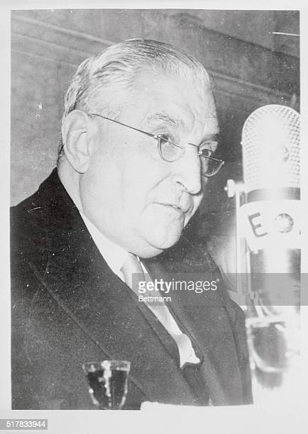 Dr Antonio Oliveira Salazar Prime Minister of Portugal who had sent two destroyers to join a protective Naval force ringing the Cape Verde islands...