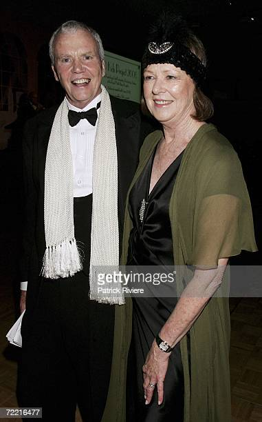 Dr Antony Kidman Dr of Clinical Psychology and his wife Janelle attend the SAD KIDS Dance The Blues Away fundraiserat Luna Park on October 19 2006 in...