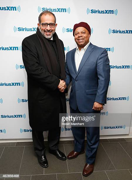 Dr. Aref Nayed, Senior Advisor To The Prime Minister Of Libya And Current Libyan Ambassador To U.A.E. With SiriusXM host David Webb of 'The David...