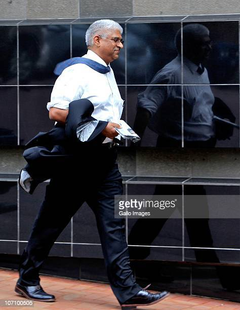 Dr Ariff Haffejee a former member of staff who is accused of participating in a kidney transplant scheme leaves the Durban Commercial Crimes Court on...