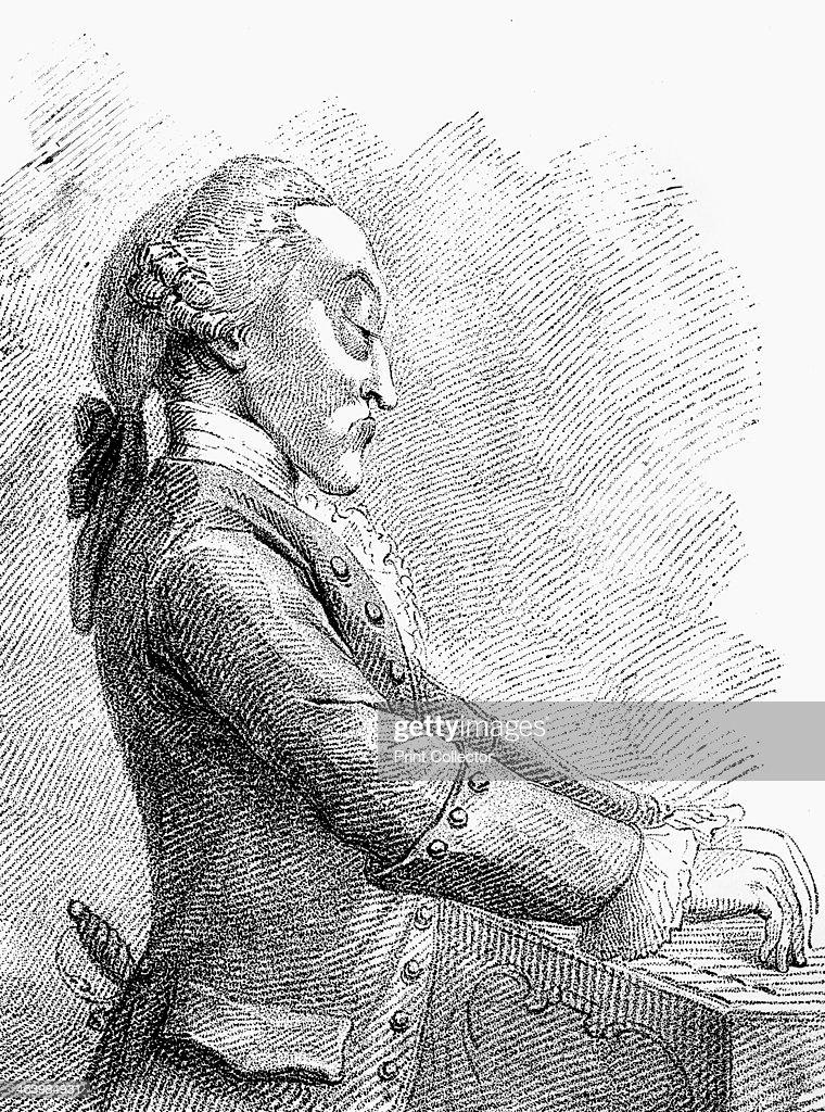 'Dr Arne', 1782.Artist: Francesco Bartolozzi : News Photo