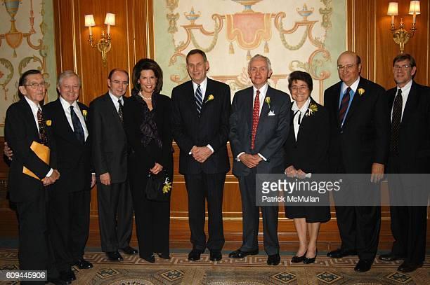 Dr. Arthur Hayes, Dr. John J. Connolly, Dr. Patrick C. Walsh, Ambassador Nancy Brinker, Dr. Delos M. Cosgrove, Dr. Joseph G. McCarthy, Dr. Maria...