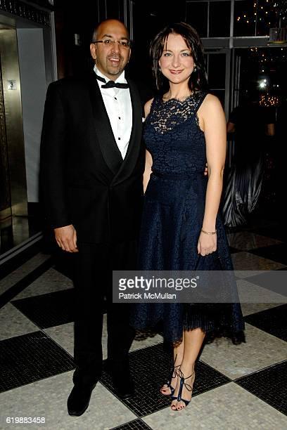 Dr Atul Kukar and Dr Irina Kaplounov attend LENOX HILL HOSPITAL Autumn Ball The Beat Goes On at The Grand Ballroom on October 20 2008 in New York City