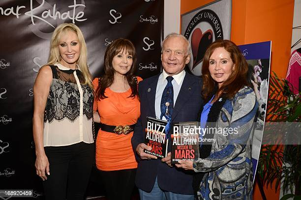 Dr Ava Cadell Buzz Aldrin and Jacklyn Zeman attend the Dr Ava Cadell's Sizzling Sexy Summer of 2013 Seminar at Shekhar Rahate Haute Couture Showroom...