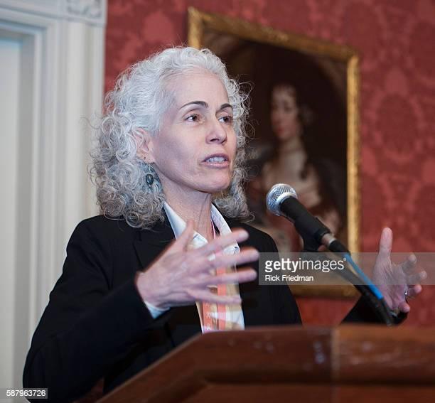Dr Barbara Ferrer Executive Director of the Boston Public Health Commission speaking after Boston Mayor Thomas M Menino declared a public health...