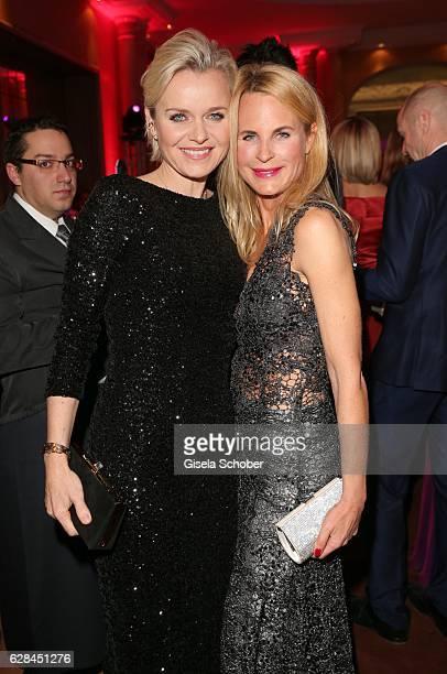 Dr Barbara Sturm and Fashion designer Sonja Kiefer during the 10th Audi Generation Award 2016 at Hotel Bayerischer Hof on December 7 2016 in Munich...