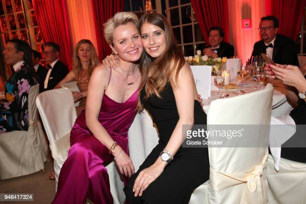 Dr Barbara Sturm Cathy Hummels during the Gala Spa Awards at Brenners ParkHotel Spa on April 14 2018 in BadenBaden Germany