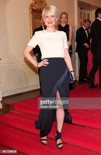 Dr Barbara Sturm during the Gala Spa Awards 2015 at Brenners ParkHotel Spa on March 21 2015 in BadenBaden Germany