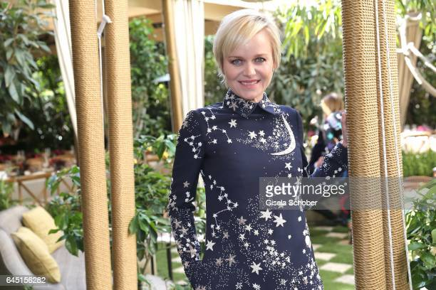 Dr Barbara Sturm during the NetAPorter lunch at hotel Chateau Marmont on February 24 2017 in Los Angeles California
