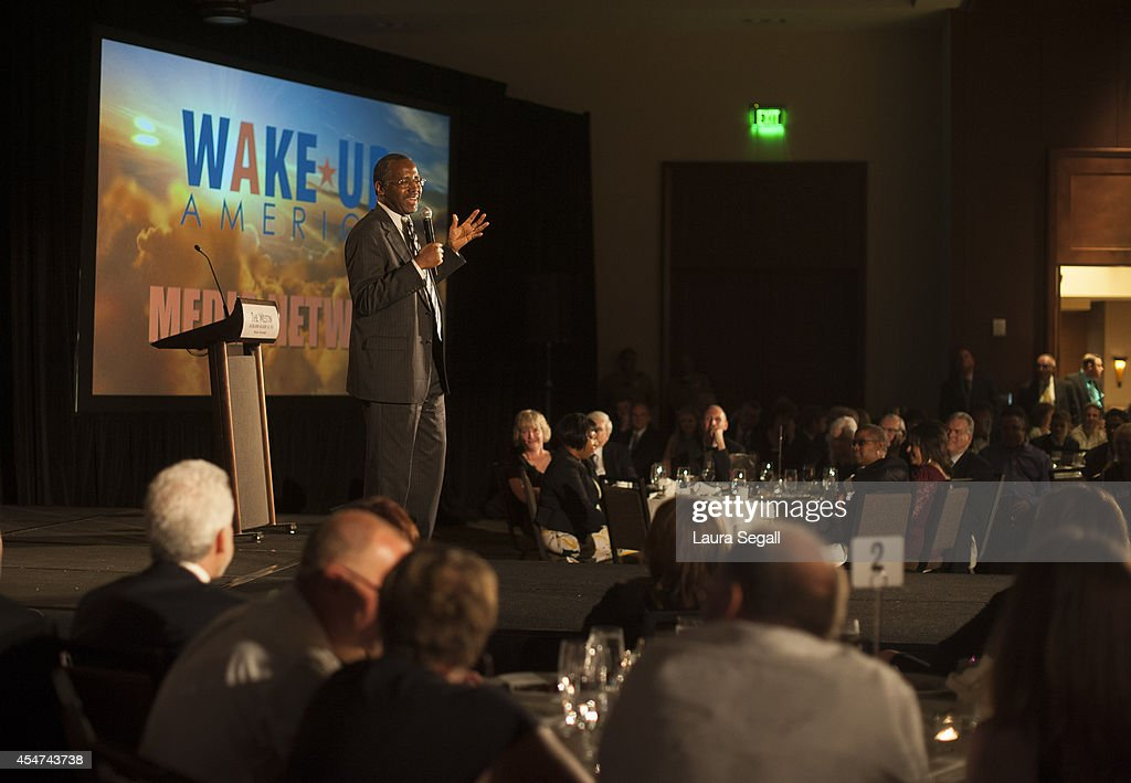 Dr. Ben Carson Speaks At Launch Of New Media Online Network In Scottsdale, Arizona : News Photo