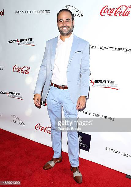 Dr Ben Talei arrives at the Accelerate4Change charity event presented by Dr Ben Talei Cinemoi on August 29 2015 in Beverly Hills California