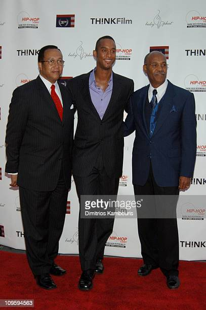 Dr Benjamin Chavis Keith Beauchamp director and Simeon Wright