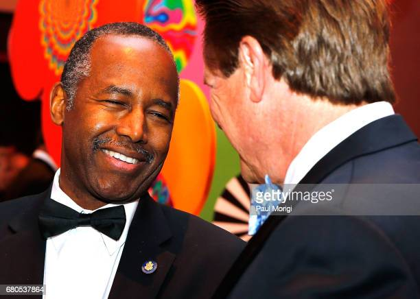Dr Benjamin S Carson Sr MD Secretary of the US Department of Housing and Urban Development attends the 2017 Kennedy Center Spring Gala Come Together...