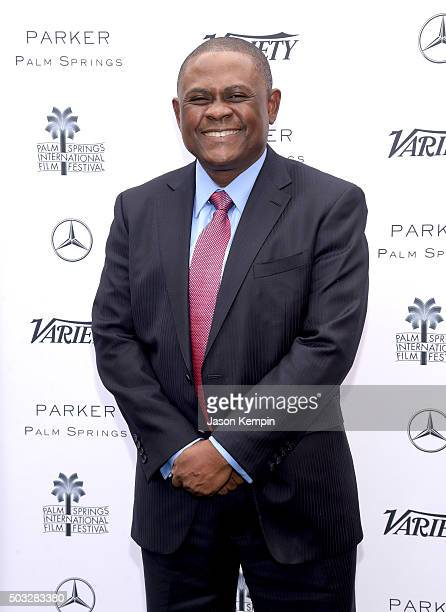 Dr Bennet Omalu attends Variety's Creative Impact Awards and 10 Directors to Watch Brunch Presented By MercedesBenz at The 27th Annual Palm Springs...