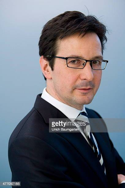 Dr Bernhard Guenther Chief Financel Officer of the RWE AG during the Annual Press Conference in Essen on March 04 2014 in Essen Germany