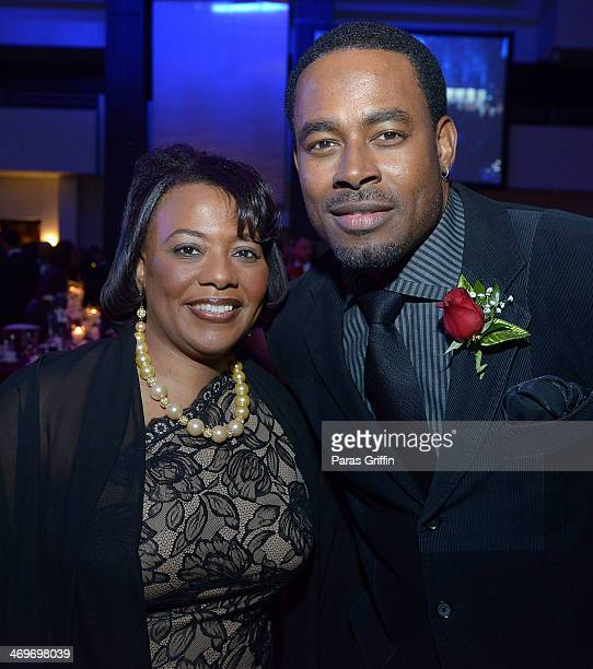 Dr Bernice King and Lamman Rucker attends 26th Annual 'A Candle in the Dark' Gala and Inaugural Ball at The Hyatt Regency Atlanta on February 15 2014...