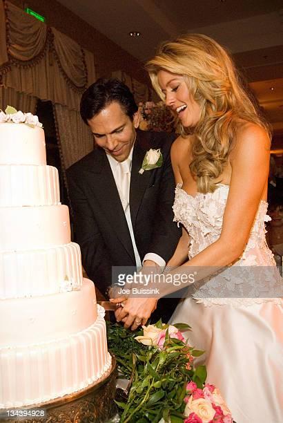 Dr Bill Dorfman and Jennifer Murphy during Dr Bill Dorfman of 'Extreme Makeover' and Jennifer Murphy of 'The Apprentice' Wedding Photos at Trump...