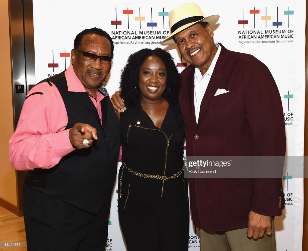 Dr. Bobby Jones, Director of Development/Chief of Staff Lolita Toney and Producer/Director Don Jackson attend NMAAM Nashville Salon at CAA offices on August 17, 2017 in Nashville, Tennessee.