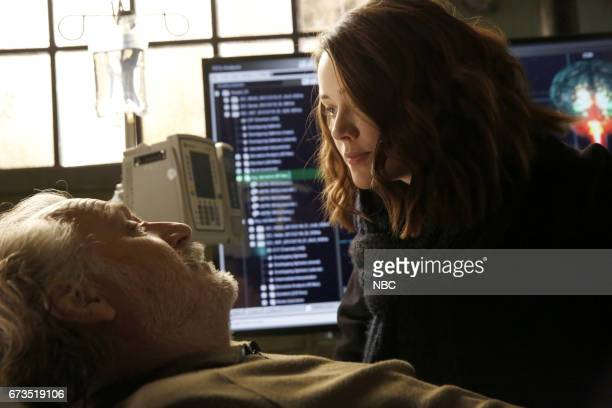 THE BLACKLIST Dr Bogan Krilov Episode 419 Pictured Rade Serbedzija as Dr Bogdan Krilov Megan Boone as Liz Keen