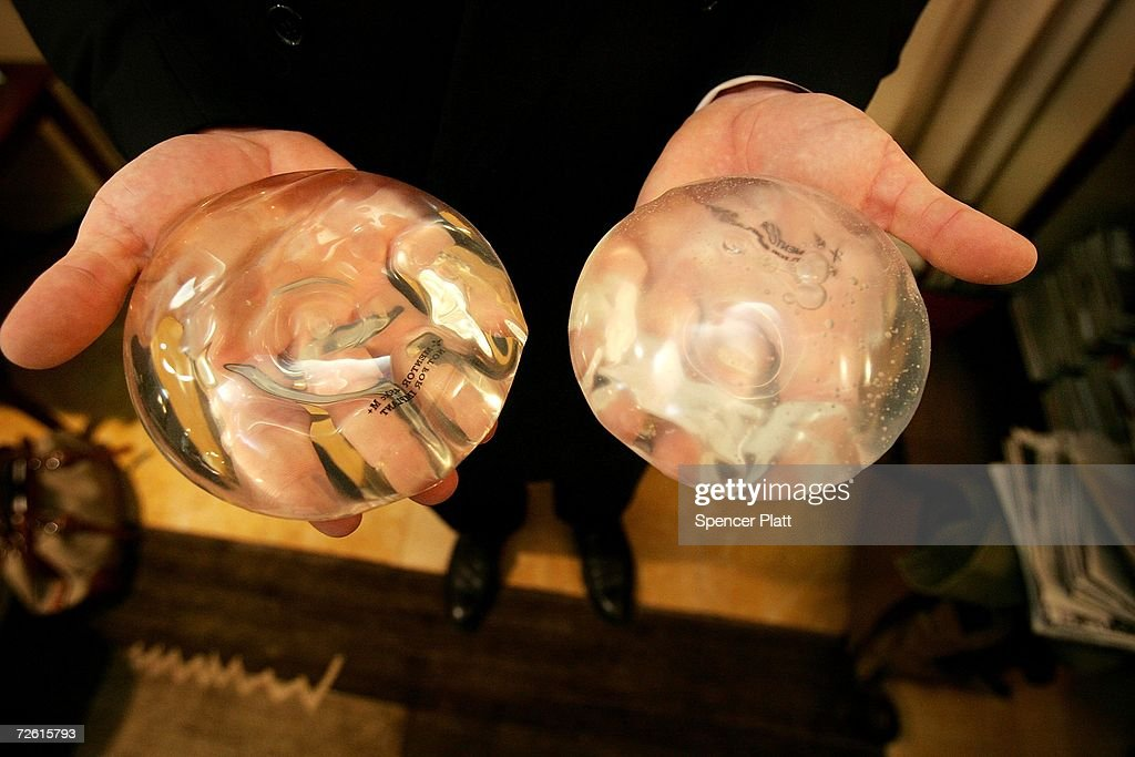 FDA Lifts Ban On Silicone Breast Implants : News Photo