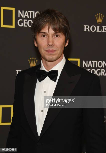 Dr Brian Cox attends National Geographic's 'An Evening Of Exploration' celebrating 130 years of National Geographic at The Natural History Museum on...