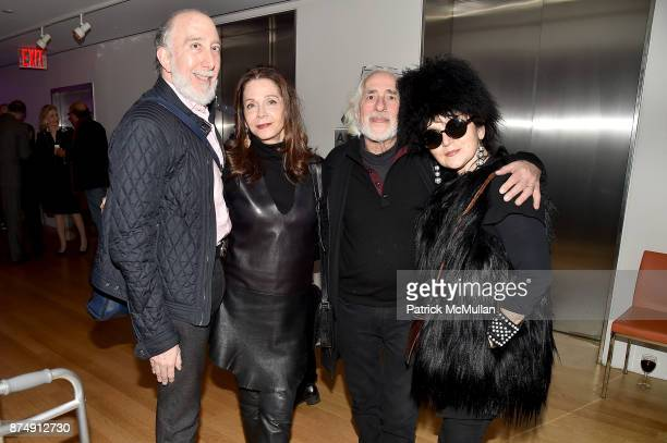 Dr Brian Saltzman Andrea Blanch Gideon Lewin and Joanna Mastroianni attend Barbara Tober hosts a party for AVEDON Something Personal at Museum of Art...