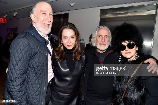 """Dr. Brian Saltzman, Andrea Blanch, Gideon Lewin and Joanna Mastroianni attend Barbara Tober hosts a party for """"AVEDON: Something Personal"""" at Museum..."""