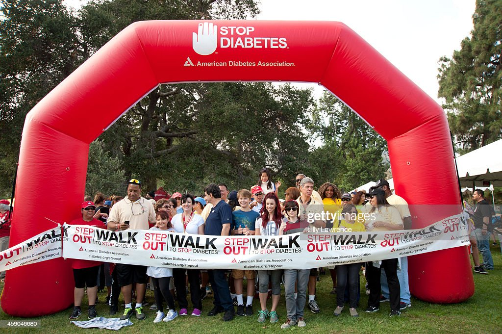 American Diabetes Association Los Angeles Step Out Walk : News Photo