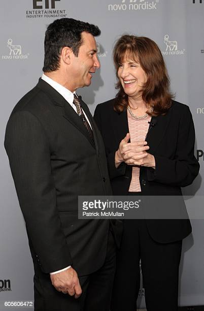 Dr Bruce Hensel and Dr Francine Kaufman attend Novo Nordisk and the Entertainment Industry Foundation host Health Focus 2006 Luncheon Sponsored by...