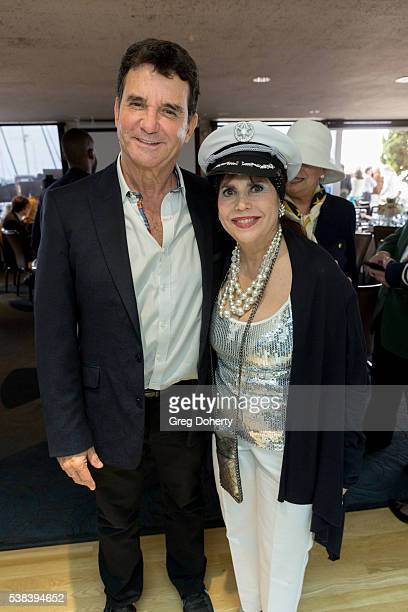 S Dr Bruce Hensel and Stephanie J Hibler attend The Thalians Presidents Club Anchors Away Brunch at the California Yacht Club on June 5 2016 in...