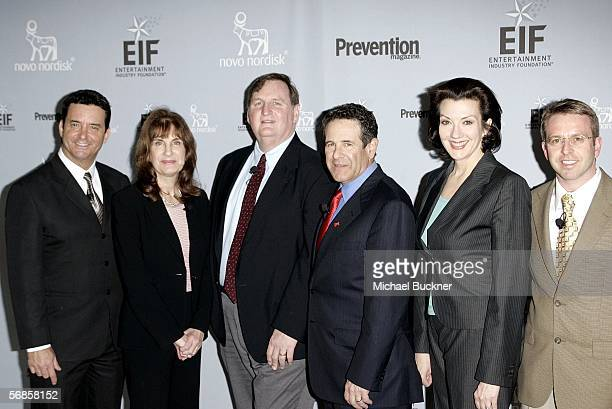 Dr Bruce Hensel Dr Francine Kaufman Dr Kelly Brownell Dr Arthur Agatston Rosemary Ellis and Dr Glen Marfin arrive at the Entertainment Industry...