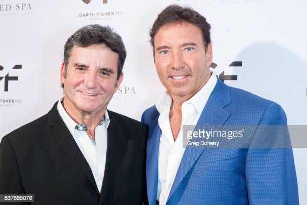 Dr Bruce Hensel former Chief Health Medical and Science Editor/Correspondent for NBC4 and Dr Garth Fisher attends the Official Launch Party Of Dr...