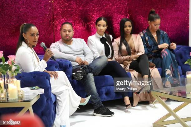 Dr Bryant Daniel Lopez Jessica Killings Jessica Rich and Olivia Pierson attends the 2018 Beauty The Beats Celebrity Party and Panel Discussion at...