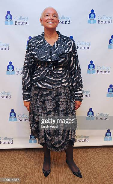 Dr Camille O Cosby attends the College Bound 20th Anniversary Celebration at the Hyatt Regency on Capital Hill on October 18 2011 in Washington DC