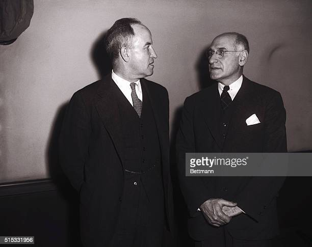 Dr Carl Binger defense psychiatrist who was not allowed to express himself concerning Whittaker Chambers' sanity at the first Alger Hiss perjury...