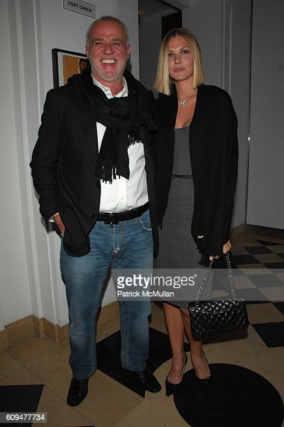 Dr Cem Kinay and Marjorie Fritz attend Dellis Cay NY launch party at Neue Gallerie NYC on January 23 2007