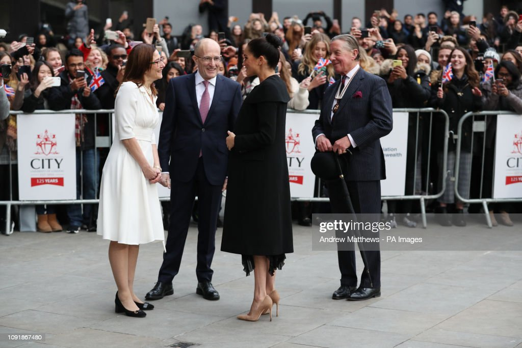 Duchess of Sussex at the Association of Commonwealth Universities : News Photo