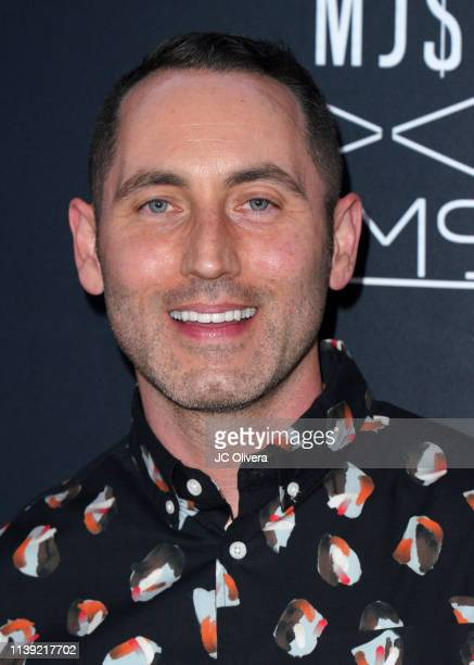 Dr Chris Donaghue attends Matt Sarafa and Jonathan Marc Stein's new 'Rich' clothing line release and fashion show on March 29 2019 in Los Angeles...