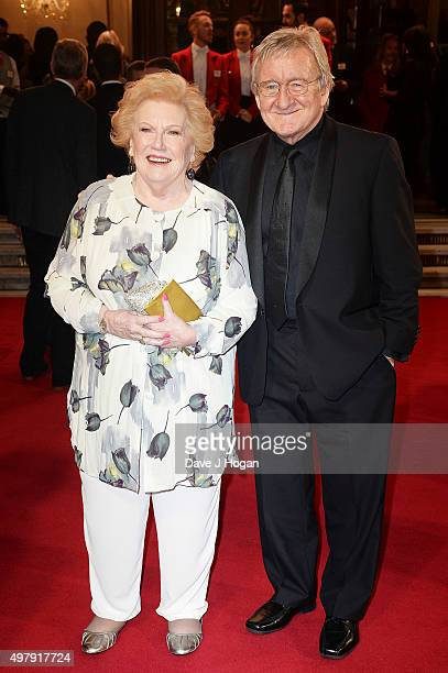 Dr Chris Steele and Denise Robertson attend the ITV Gala at London Palladium on November 19 2015 in London England