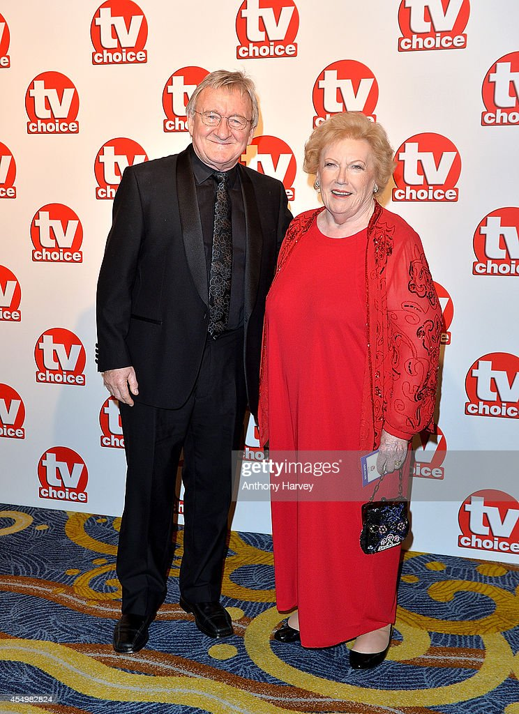 Dr Chris Steele and Denise Robertson attend the TV Choice Awards 2014 at London Hilton on September 8, 2014 in London, England.
