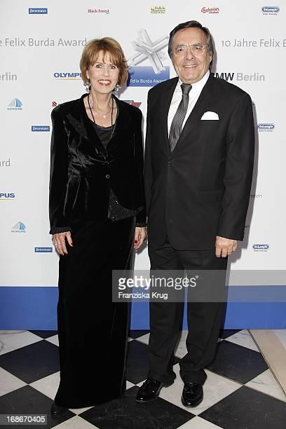 Dr Christa Maar and Hans Mahr at the 10th Anniversary Of The Felix Burda Award at Hotel Adlon in Berlin