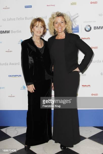 Dr Christa Maar and Susanne Fröhlich at the 10th Anniversary Of The Felix Burda Award at Hotel Adlon in Berlin